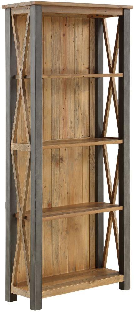 Baumhaus Urban Elegance Reclaimed Wood Tall Bookcase