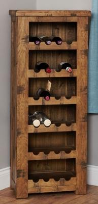 Baumhaus Heyford Rough Sawn Oak Wine Rack Part 76