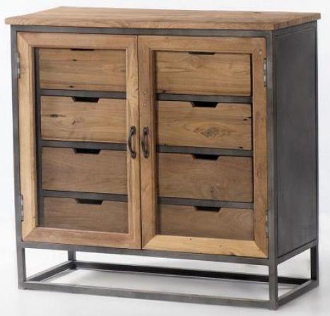 Artisan 2 Door 4 Drawer Cabinet