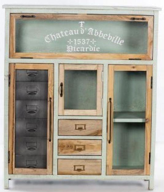 Artisan Painted 4 Door 3 Drawer Cabinet