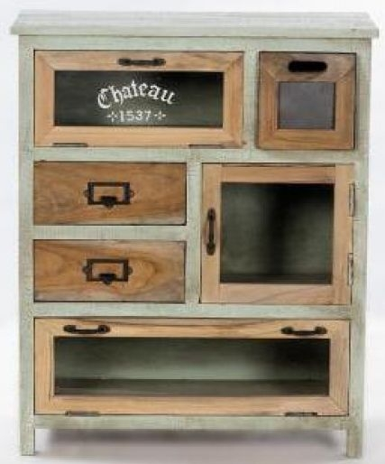 Artisan Painted Chest of Drawer - 3 Door 3 Drawer