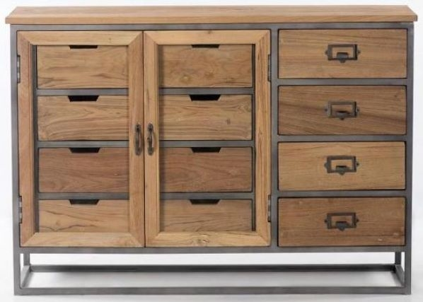 Artisan 2 Door 4 Drawer Medium Sideboard