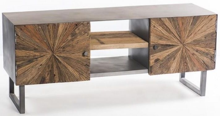 Artisan TV Cabinet - 2 Door 1 Shelf