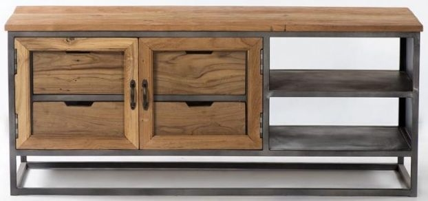 Artisan TV Unit - 2 Door 1 Shelf
