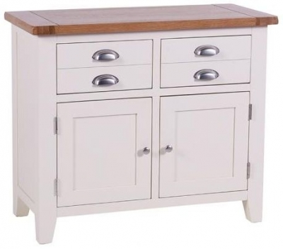 Clearance Vancouver Expressions Linen Buffet - 2 Drawer 2 Door