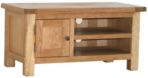 Clearance Vancouver Select Oak TV Cabinet with 1 Door