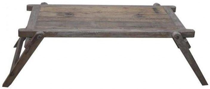 Antique Colonial Safari Bed - 120cm