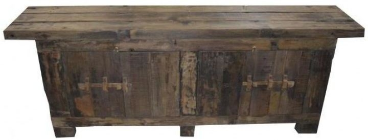 Reclaimed Teak Rustic Wide Sideboard