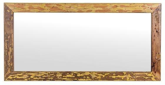 Cal Stadium Wooden Rectangular Mirror - 20cm x 24cm