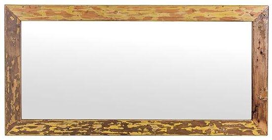 Cal Stadium  Rectangular Mirror - W 66cm