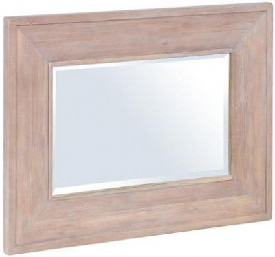 Chalked Oak Mirror - Rectangular