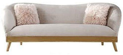 Bardot Armen 3 Seater Fabric Sofa