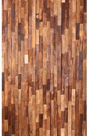 Doors Reclaimed Wooden Textured Wide Wall Art