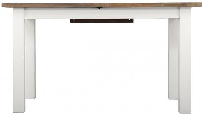Driftwood Painted Dining Table - 140cm-180cm Rectangular Extending