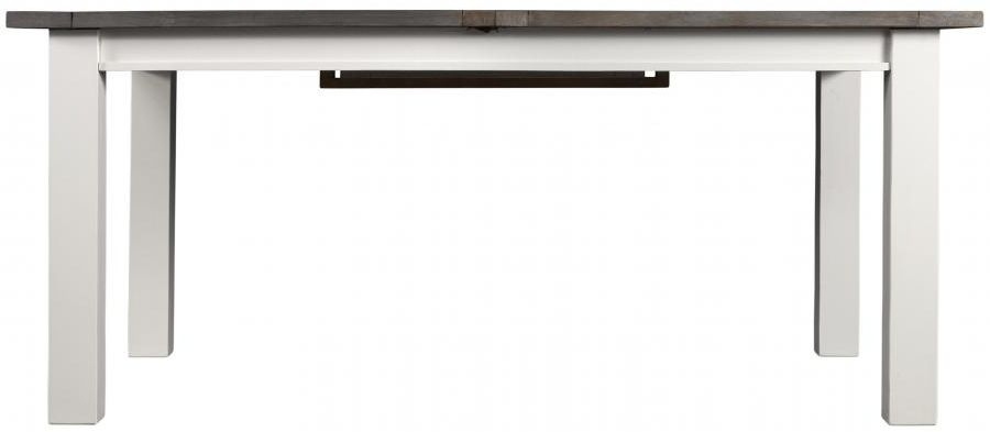 Driftwood Painted Rectangular Extending Dining Table - 180cm-240cm
