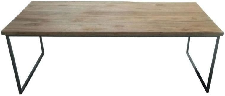 Durban Coffee Table - Iron and Wood