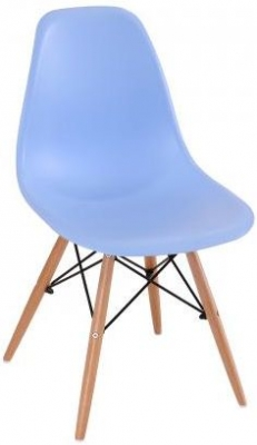 Eames Inspired Eiffel Chair - Sky Blue