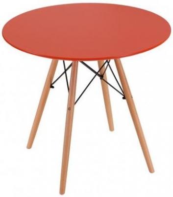 Eames Inspired Eiffel Table - Orange