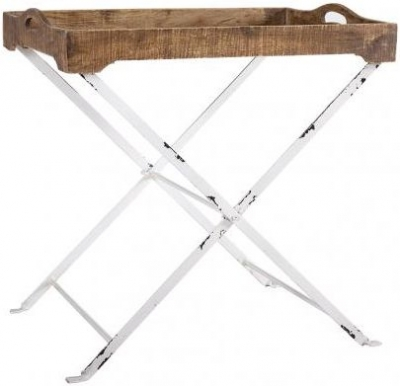 Cross Legged Tray Table