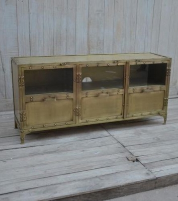 Ornate Metal Sideboard