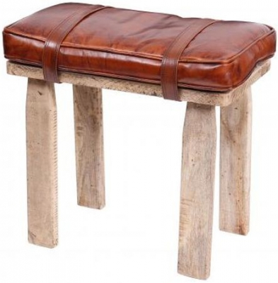Saddle Bag Style Stool