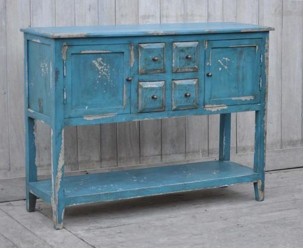 Upcycled Wooden Hall Cabinet