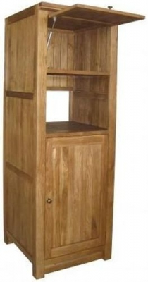 Evelyn Oak 2 Door Coffee Maker Unit