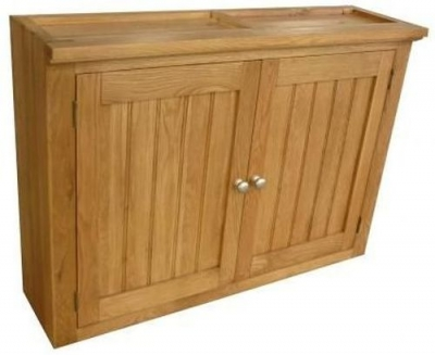 Evelyn Oak 2 Door Wall Cabinet