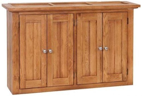 Evelyn Oak 4 Door Wall Cabinet