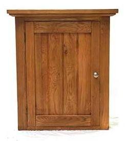 Evelyn Oak 1 Left Door Cabinet