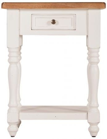 Farmhouse Console Table with Drawer