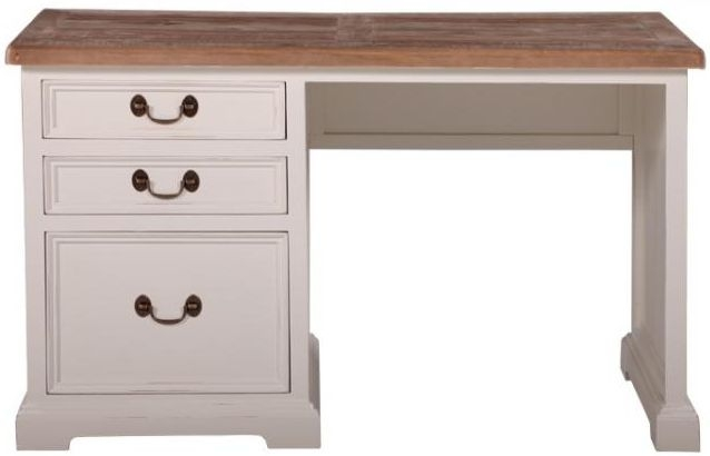 Farmhouse Junior Executive Desk with 3 Drawers