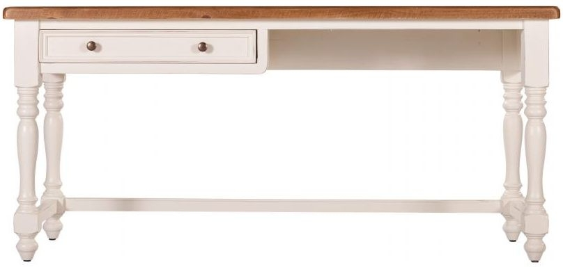 Farmhouse Simple Desk with Drawer