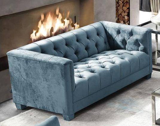 Fitzgerald Piccolo Bayou 2 Seater Fabric Sofa