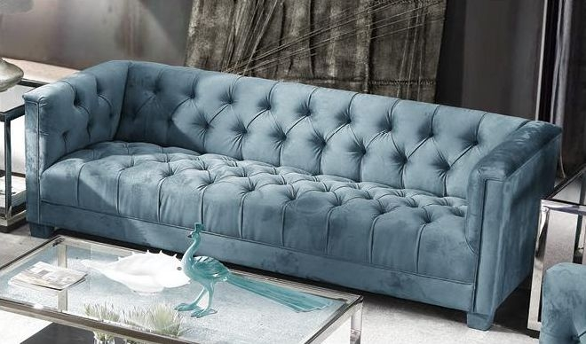 Fitzgerald Piccolo Bayou 3 Seater Fabric Sofa