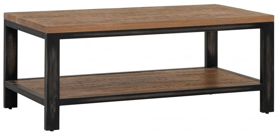 Forge Old Oak Industrial Coffee Table