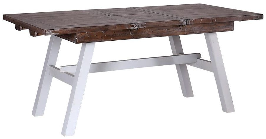 Hamptons Painted Rectangular Extending Dining Table