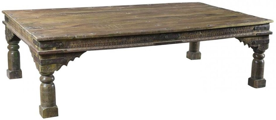 Antique Wooden Medium Coffee Table