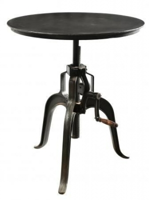 Handicrafts Industrial Adjustable Lamp Table