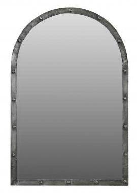 Handicrafts Industrial Arched Mirror - 90cm x 60cm