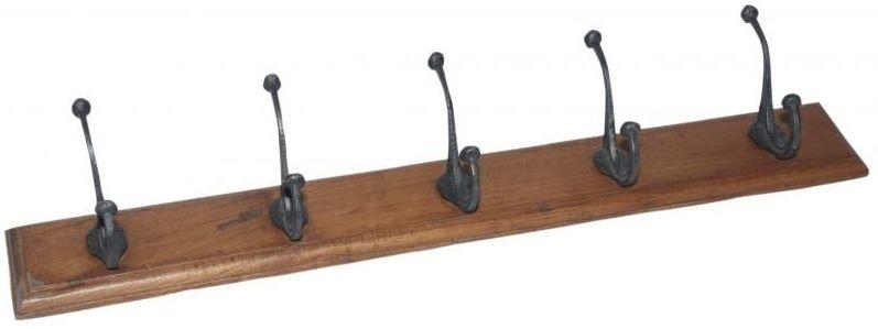 Handicrafts Industrial 5 Hooks Coat Rack