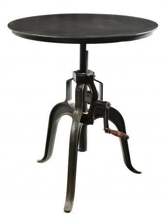 Handicrafts Industrial Adjustable Lamp Table