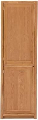 Handmade Oak 1 Door Fridge Freezer Cabinet