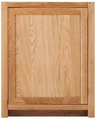 Handmade Oak Appliance Cabinet