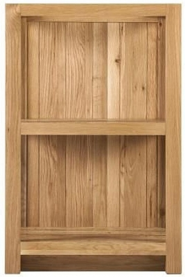 Handmade Oak Slatted Shelf Cabinet