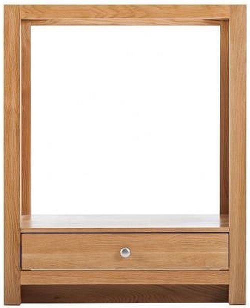 Handmade Oak 1 Drawer Oven Cabinet