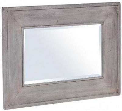 Hereford Slate Oak Mirror - Rectangular