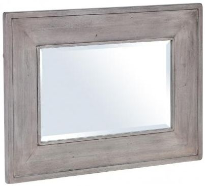 Hereford Slate Oak Mirror - Rectangular