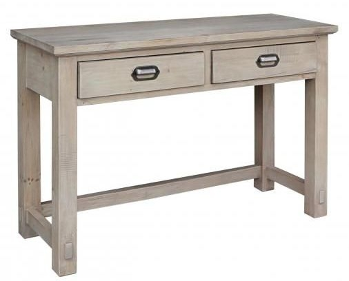 Homestead Recycled Pine 2 Drawer Dressing Table