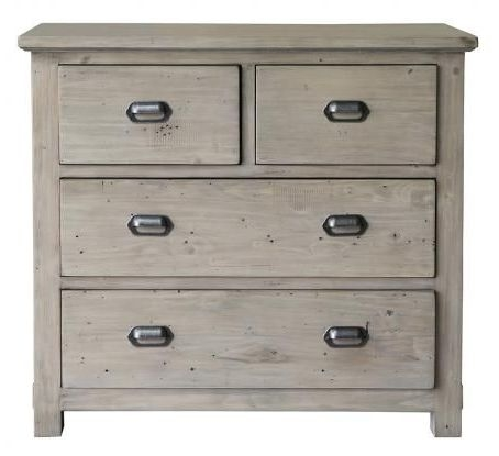 Homestead Recycled Pine 4 Drawer Chest